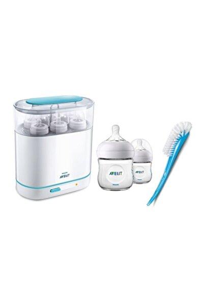 Philips Avent Sterilizatör Biberon & Fırça Hediyeli