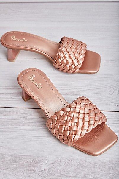 Bambi Gold Kadın Sandalet L0533001309