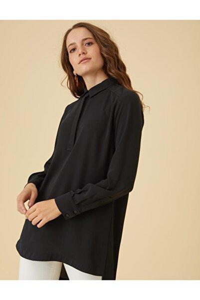 Kayra Basic Tunik Siyah Sz 21500