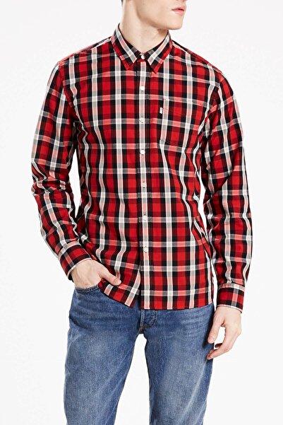 Levi's Erkek Kırmızı Kareli Gömlek 65824-0308