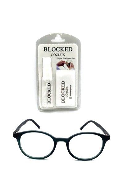 BLOCKED Numarasız Mavi Işık Engelleme Gözlük Bilgisayar Gözlükleri Uv400
