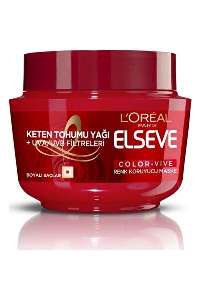 ELSEVE Saç Maskesi Color-vive Renk Koruyucu Maske 300ml