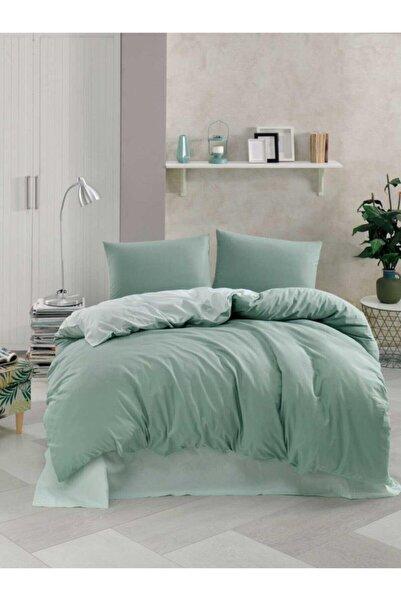 Soley New Harmony Çift Kişilik Nevresim Takımı Koyu Yeşil-mint