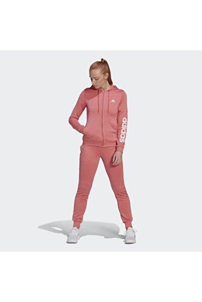 adidas Kadın Pembe Spor Eşofman Takımı W Lın Ft Ts