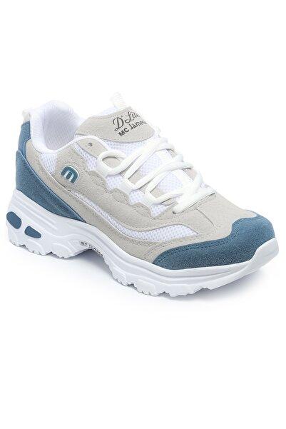 Marco Jamper Buz Petrol Mavi Sneaker Kadın Ayakkabı Wb1901