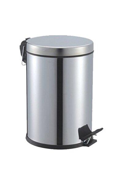 5DM Paslanmaz Çelik Pedallı Çöp Kovası 16 Lt