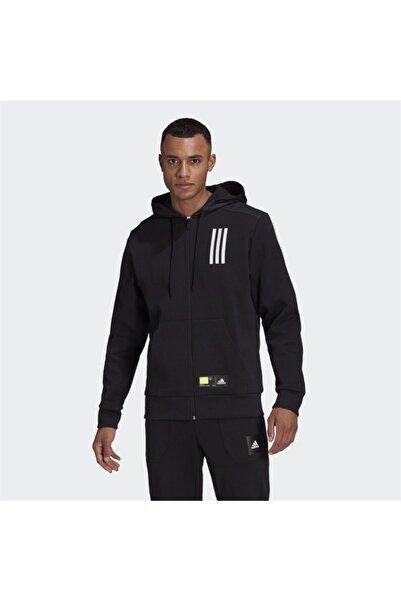 adidas Sportswear Overlay Full-zip Erkek Sweatshirt