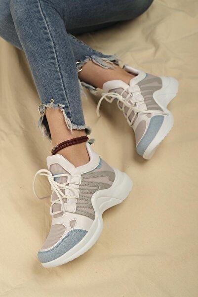 Oksit Casia Kalın Taban Kadın Sneaker