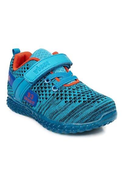 Vicco P20y.104 Erkek Çocuk Mavi Günlük Spor Ayakkabı