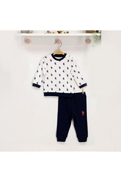 U.S. Polo Assn. Kids U.s. Polo Assn Lisanslı Bebek Uzun Kol 2'li Takım Usb131