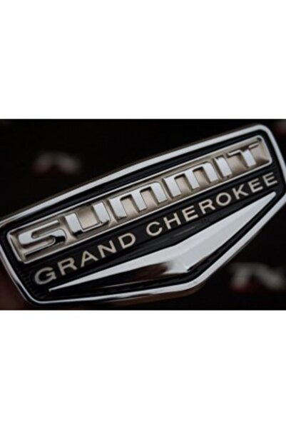 Jeep Grand Cherokee Summit Krom Abs 3m Bagaj Yazı Logo