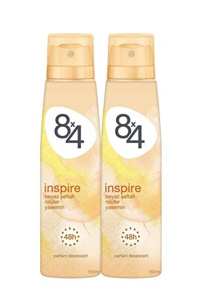 8x4 Inspire Kadın Deodorant Sprey 150 ml 2 Adet