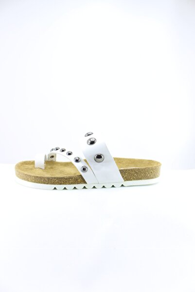 İnci Kadın  Deri Sandalet