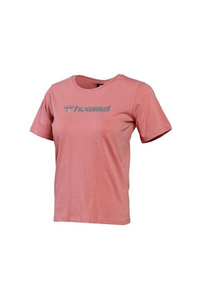 HUMMEL Kadın Günlük Tişört 911341-2638 Turuncu Hmlpescara T-shirt