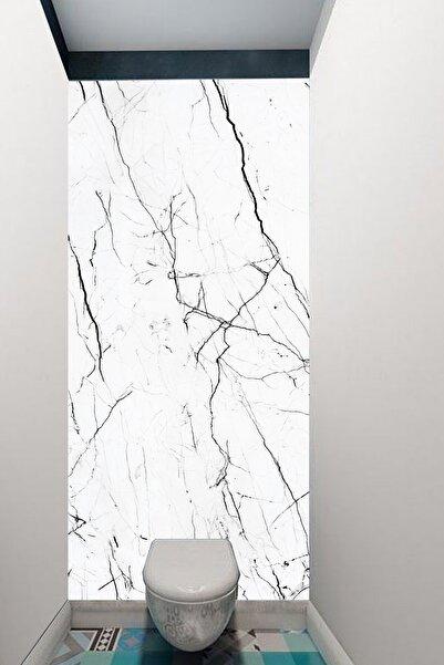 Kolhis 100cmx250cm Mat Banyo Fayans Suya Dayanıklı Premium Sağlıklı Boya Yapışkanlı Folyo
