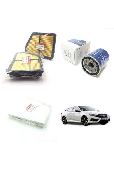 WUNDER Honda Civic ( 2017 Ve Sonrası )  Filtre Bakım Seti