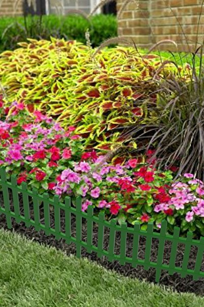 moniev Yeşil Çit Bahçe Çiti Dekoratif Plastik Bahçe Çiti Peyzaj Koruma