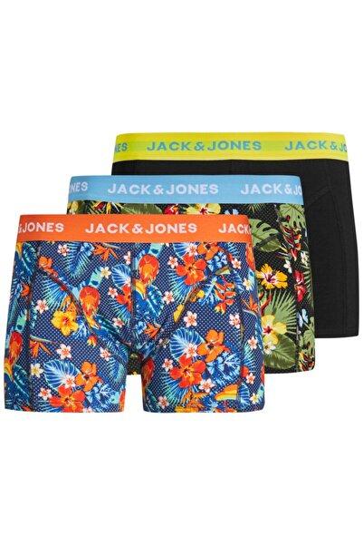 Jack & Jones Jack Jones Crezy 3 Lü Paket Erkek Boxer