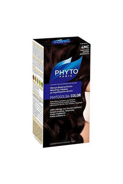 Phyto Çikolata Kahve Saç Boyası - Phytocolor 4Mc Kit 40 ml 618059109805