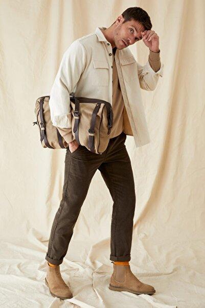 DeFacto Regular Fit Kadife Pantolon