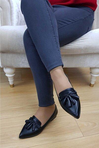 TREND Kadın Günlük Ayakkabı Siyah Ox37