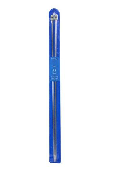 Yabalı Titanyum Örgü Şiş 35 Cm - No : 4,5 Mm