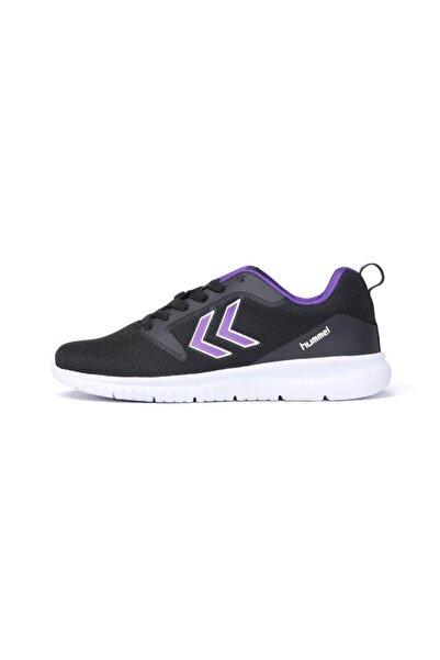 HUMMEL Kadın Siyah Gri Bağcıklı Spor Ayakkabı