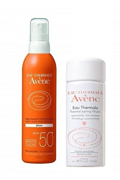 Avene Thermal Sprey Spf50+ 200 Ml(thermal Su 50 Ml Hediyeli)
