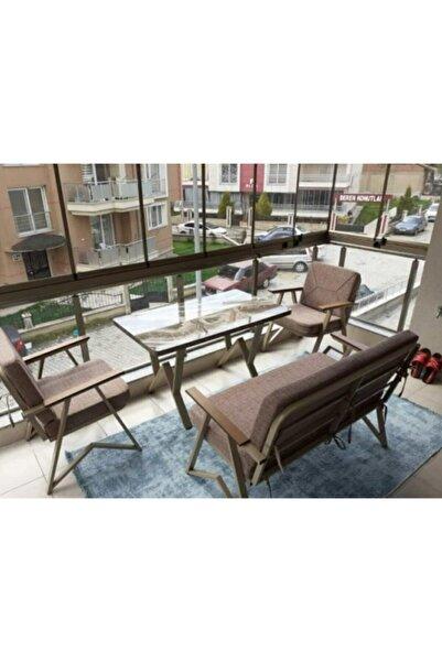 Tu Tienda 2+1+1+masa Dekoratif Bahçe,balkon Takımı