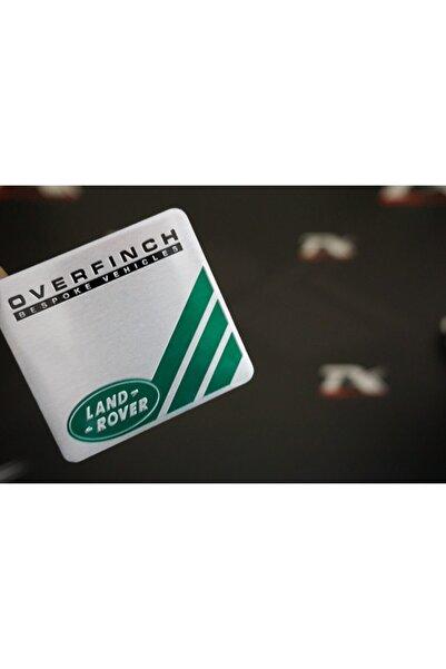 Land Rover Overfinch Body Krom Metal 3m Plaka Logo