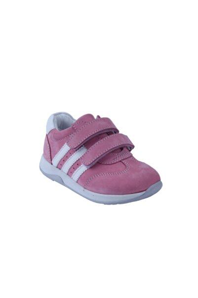 Toddler Kız Çocuk Pembe Hakiki Deri Ortopedik Ayakkabısı 26-30