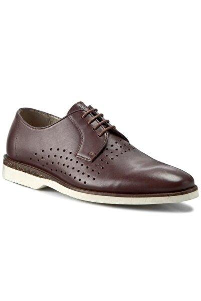 CLARKS Erkek Kestane Deri Ayakkabı