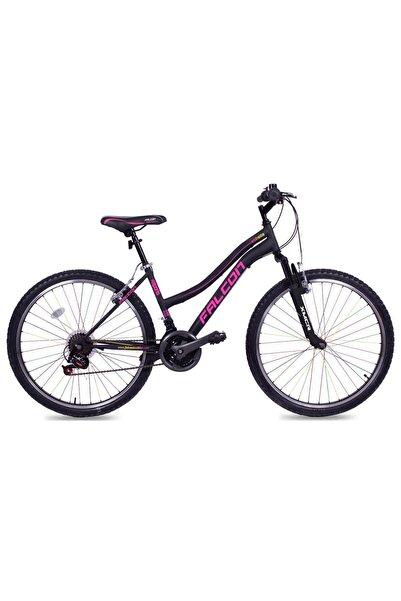 "Falcon Estrella 24"" Jant 21 Vites Bisiklet - Mat Siyah/mor"