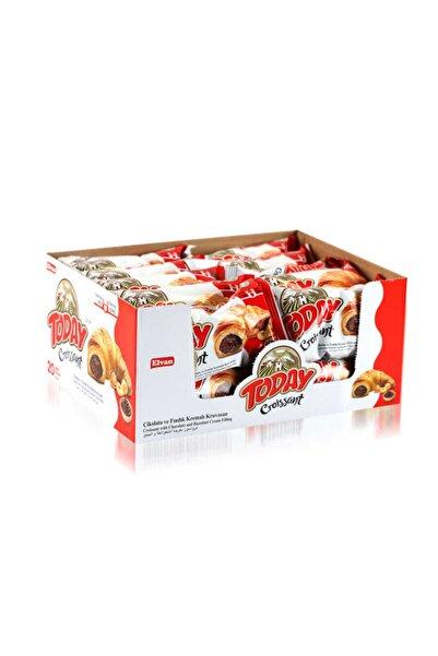 Elvan Today Kruvasan Çikolatalı 45gr  20 Adet (1 Kutu)