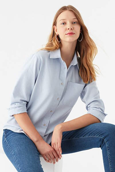 Mavi Kadın Gömlek 122740-28313