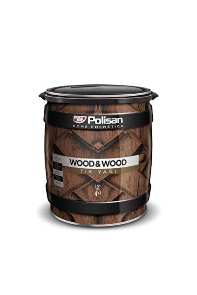 Polisan Wood&wood Anti Aging Tik Yağı Şeffaf Renksiz 0,75 Lt