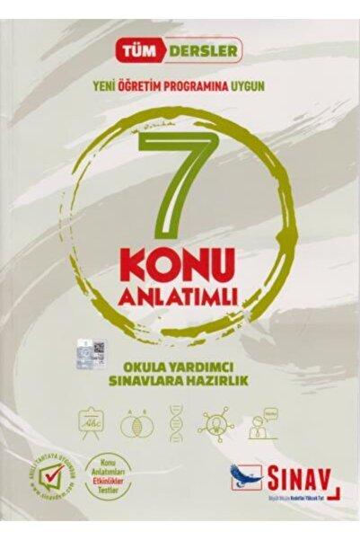 Sınav Yayınları 7. Sınıf Tüm Dersler Konu Anlatımlı Kolektif