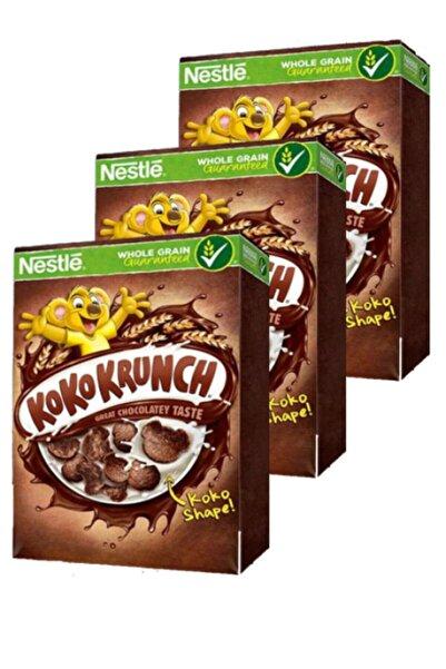 Nestle Koko Krunch Kakaolu Tam Buğday Ve Mısır Gevreği 400 Gr X 3