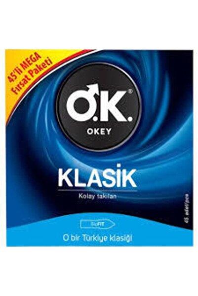 Okey Klasik 45'li Prezervatif Avantaj Paketi