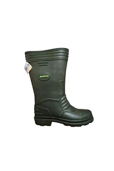 Akınal Bella Ab81-10 Unisex Eva Ultra Hafif Poli Taban Uzun Yağmur Çizmesi