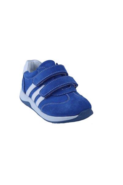 Toddler Erkek Bebek Lacivert Deri Ortopedik Ayakkabı 01204