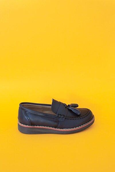 epaavm Püsküllü Ortapedik Termo Taban Erkek Çocuk Ayakkabı