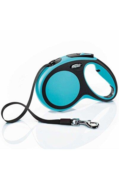 Flexi Mavi New Comfort Otomatik Şerit Köpek Gezdirme Tasma Xs 3 mt