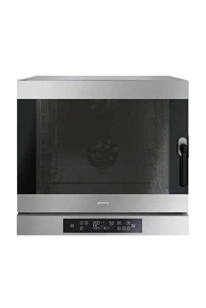 SMEG Alfa 625ehds Pastane Fırını, Konveksiyonlu, Nemlendiricili, Paslanmaz Çelik, Üç Fanlı