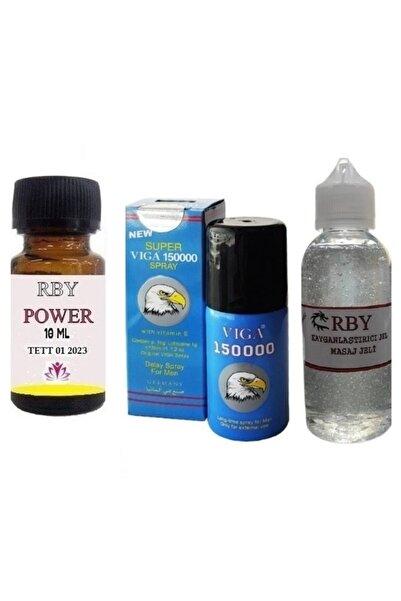 Viga Geciktiriçi Sprey 150000 Siprey + Power Rby + Rby Kayganlaştırıcı