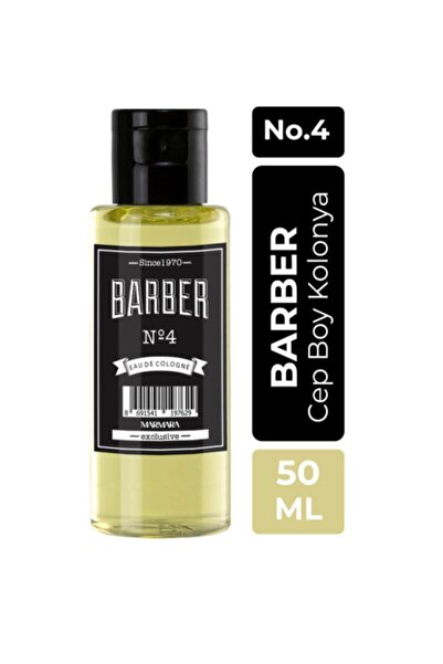 Barber Kolonya 50 ml No.4 Pet