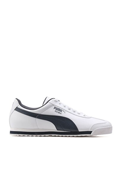 Puma ROMA BASIC Beyaz Lacivert Erkek Sneaker 100126098