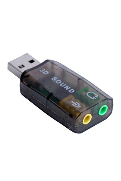 Streak 5.1 Sound Usb Ses Kartı Virtual 3d Çevirici Dönüştürücü Bw2430