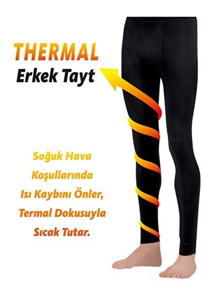 Dore Çorap Erkek Termal Tayt - Büyük Beden  SİYAH 500