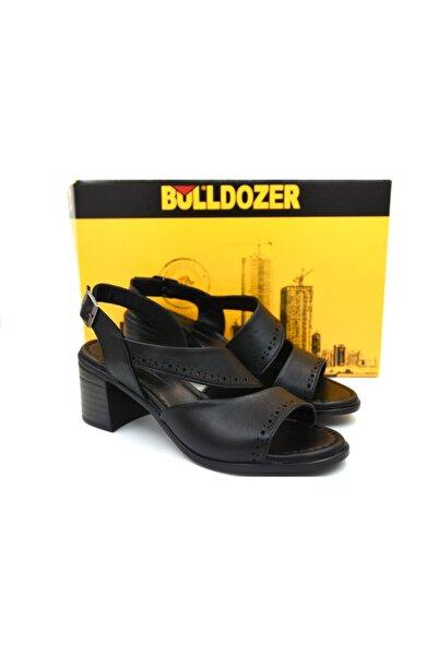 Bulldozer 211610 Hakiki Deri Günlük Sandalet